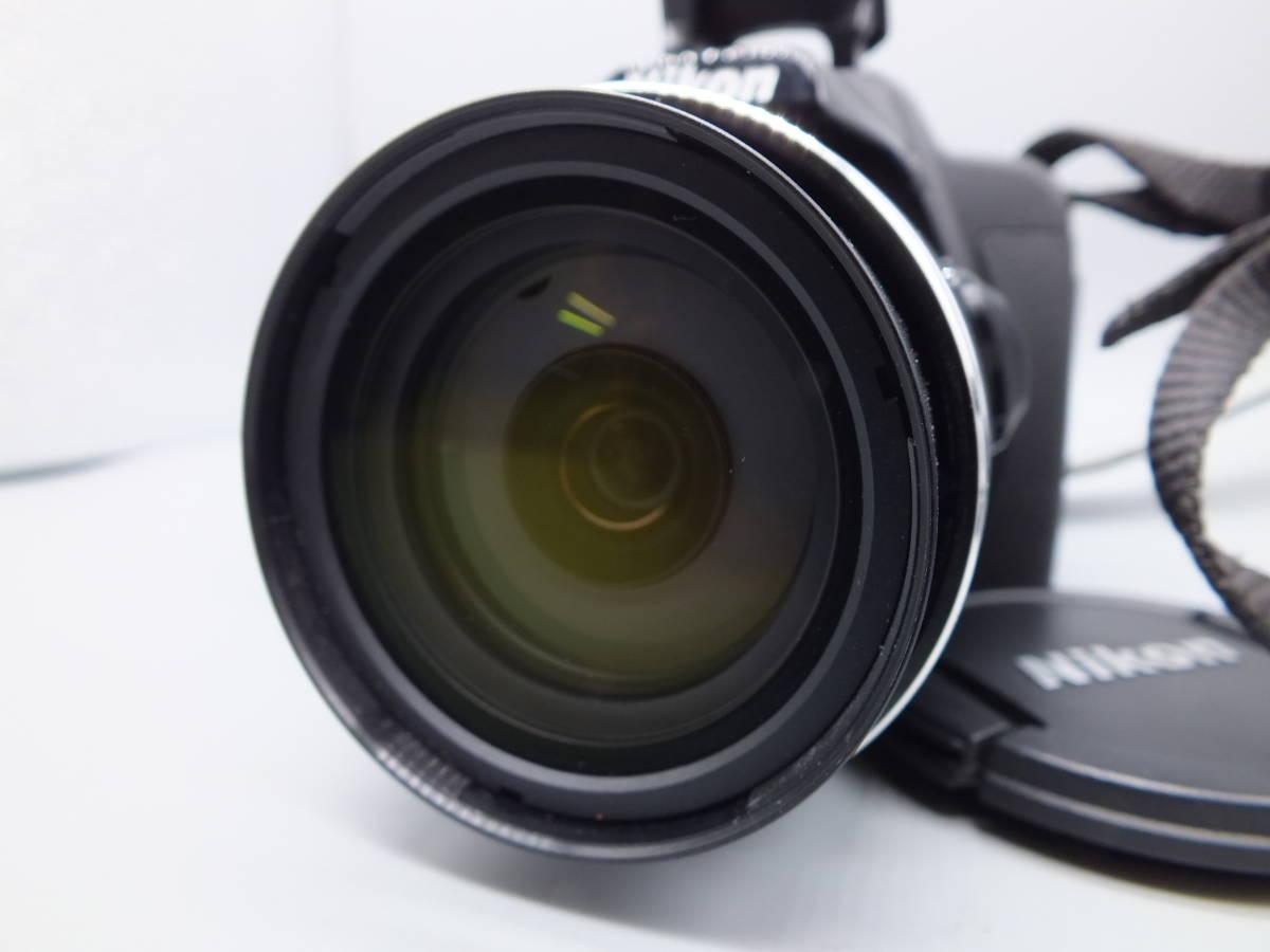 NIKON ニコン/デジタルカメラ/COOLPIX P520/クールピクス ブラック/完動品/コンパクト/バッテリー・2GB SDカード付属/C0210_画像3