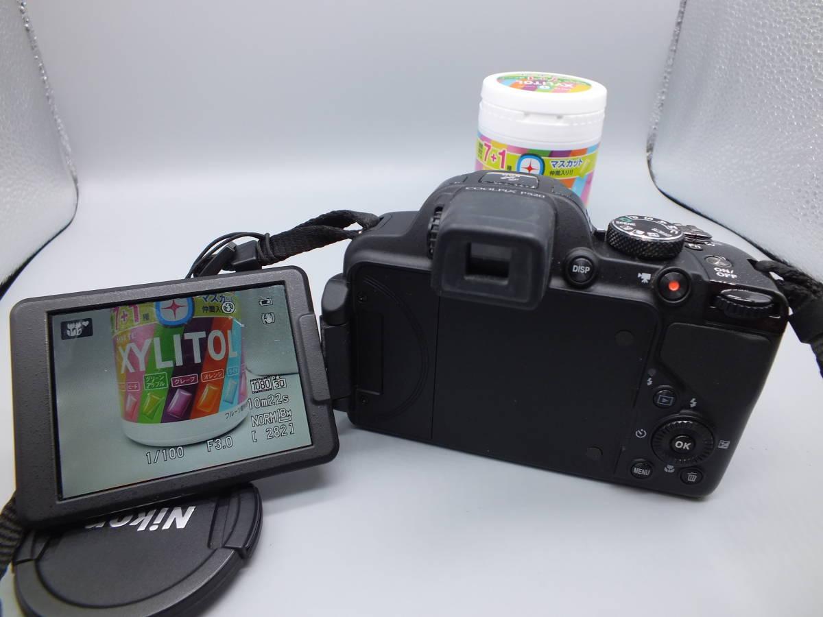 NIKON ニコン/デジタルカメラ/COOLPIX P520/クールピクス ブラック/完動品/コンパクト/バッテリー・2GB SDカード付属/C0210_画像7