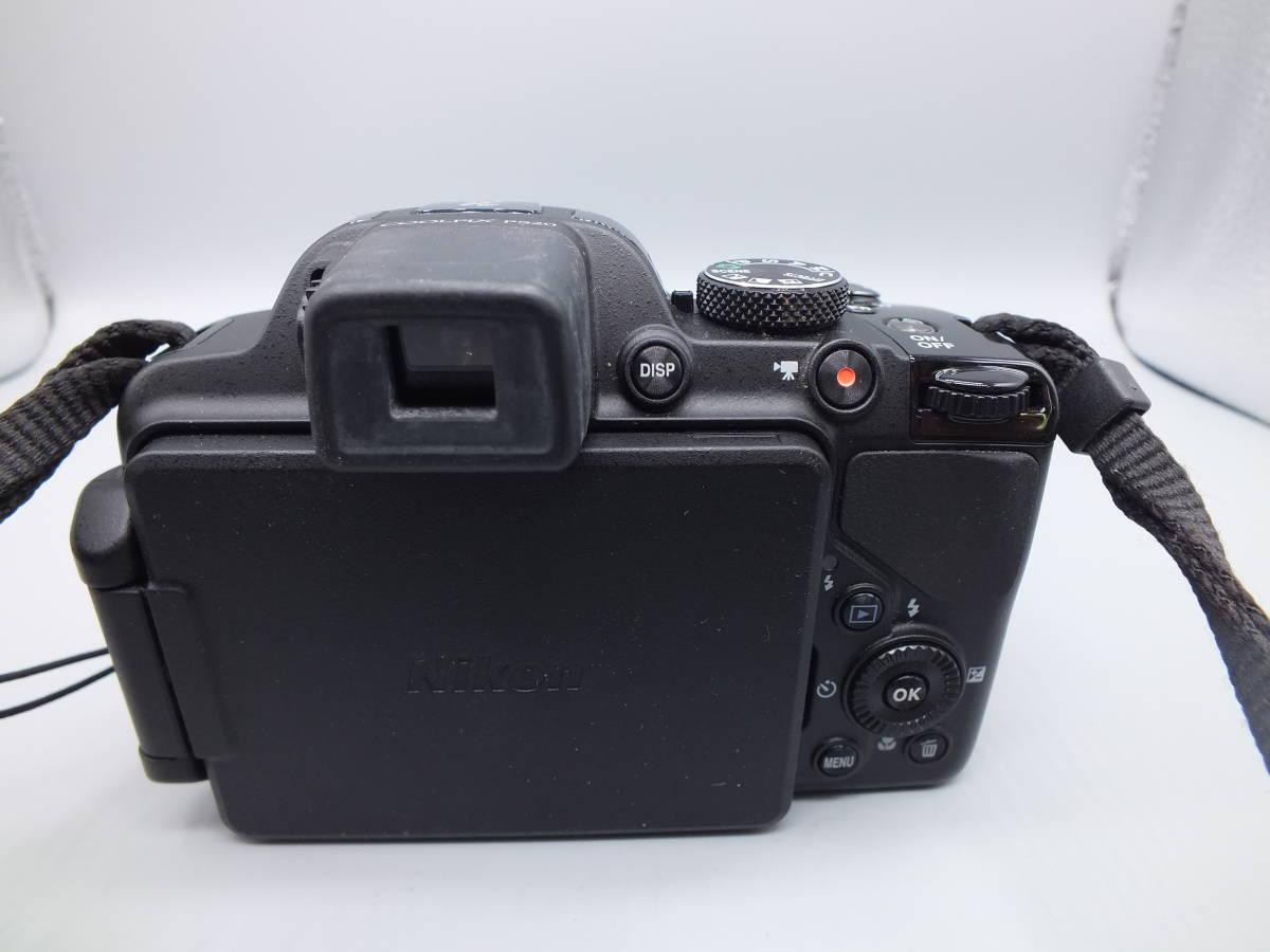 NIKON ニコン/デジタルカメラ/COOLPIX P520/クールピクス ブラック/完動品/コンパクト/バッテリー・2GB SDカード付属/C0210_画像5
