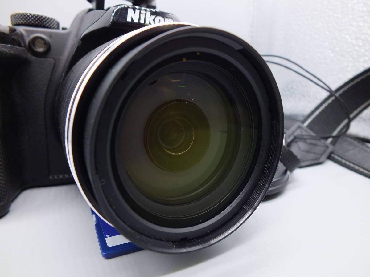 NIKON ニコン/デジタルカメラ/COOLPIX P520/クールピクス ブラック/完動品/コンパクト/バッテリー・2GB SDカード付属/C0210_画像2