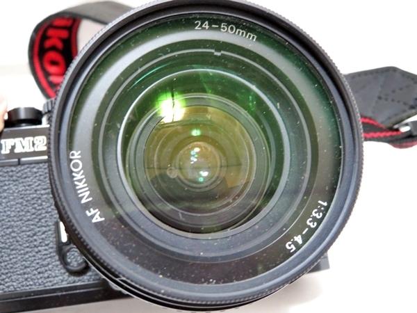 FI102【まとめセット】Nikon カメラ NEW FM2 レンズ AF NIKKOR 24-50mm 1:3.3-4.5 marumi フィルター 等【1000円スタート】_画像3