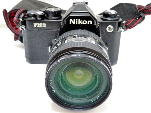 FI102【まとめセット】Nikon カメラ NEW FM2 レンズ AF NIKKOR 24-50mm 1:3.3-4.5 marumi フィルター 等【1000円スタート】_画像2