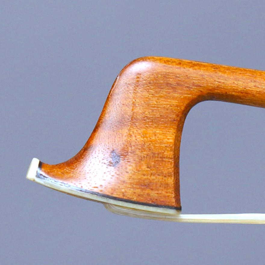 ☆最落なし【Raffin鑑定】Louis MORIZOT freres Violin Bow モリゾー弓_画像3