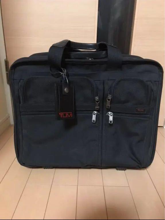 ニューヨーク購入 TUMI 26003 キャリーバッグ&TUMIサイドバッグ_画像2