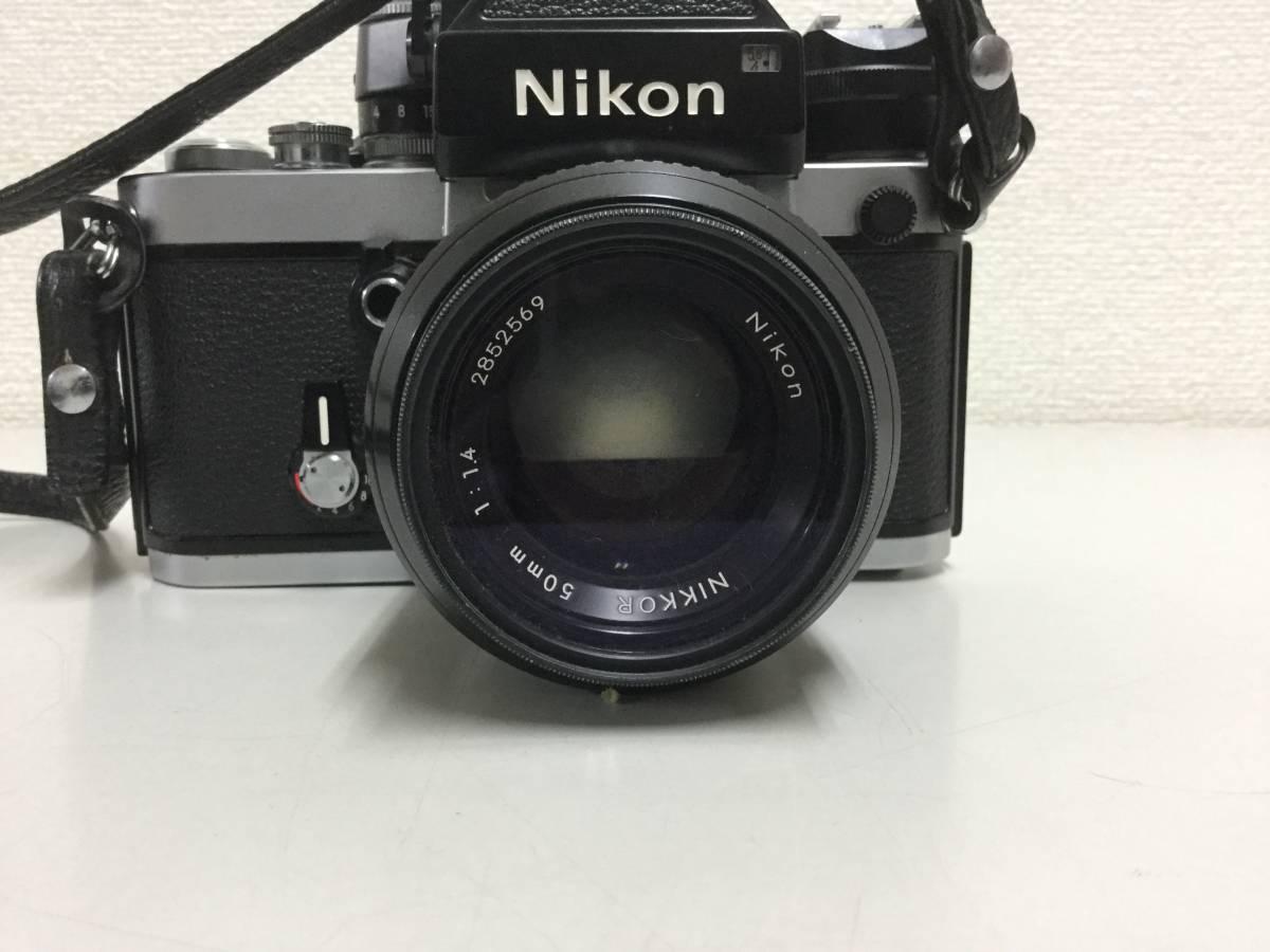 ★Nikon ニコン F2 レンズ1:1.4 50mm★_画像5