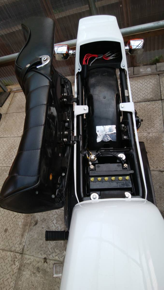 z250ft カワサキ 美車 実働書付 gsx250 バブ ホーク エンジンOH済_画像8