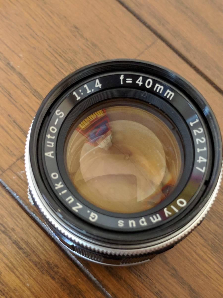 オリンパス PEN F 40mmF1.4 ジャンク_画像8