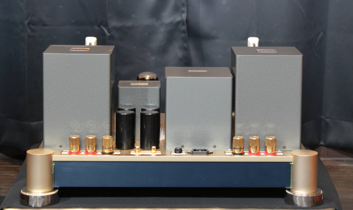 ♪シングルエンドステレオパワーアンプ EC-805 WAVAC試作モデル トランスはすべてTANGO特注品使用♪_画像4