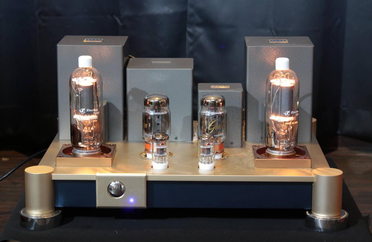 ♪シングルエンドステレオパワーアンプ EC-805 WAVAC試作モデル トランスはすべてTANGO特注品使用♪_画像8
