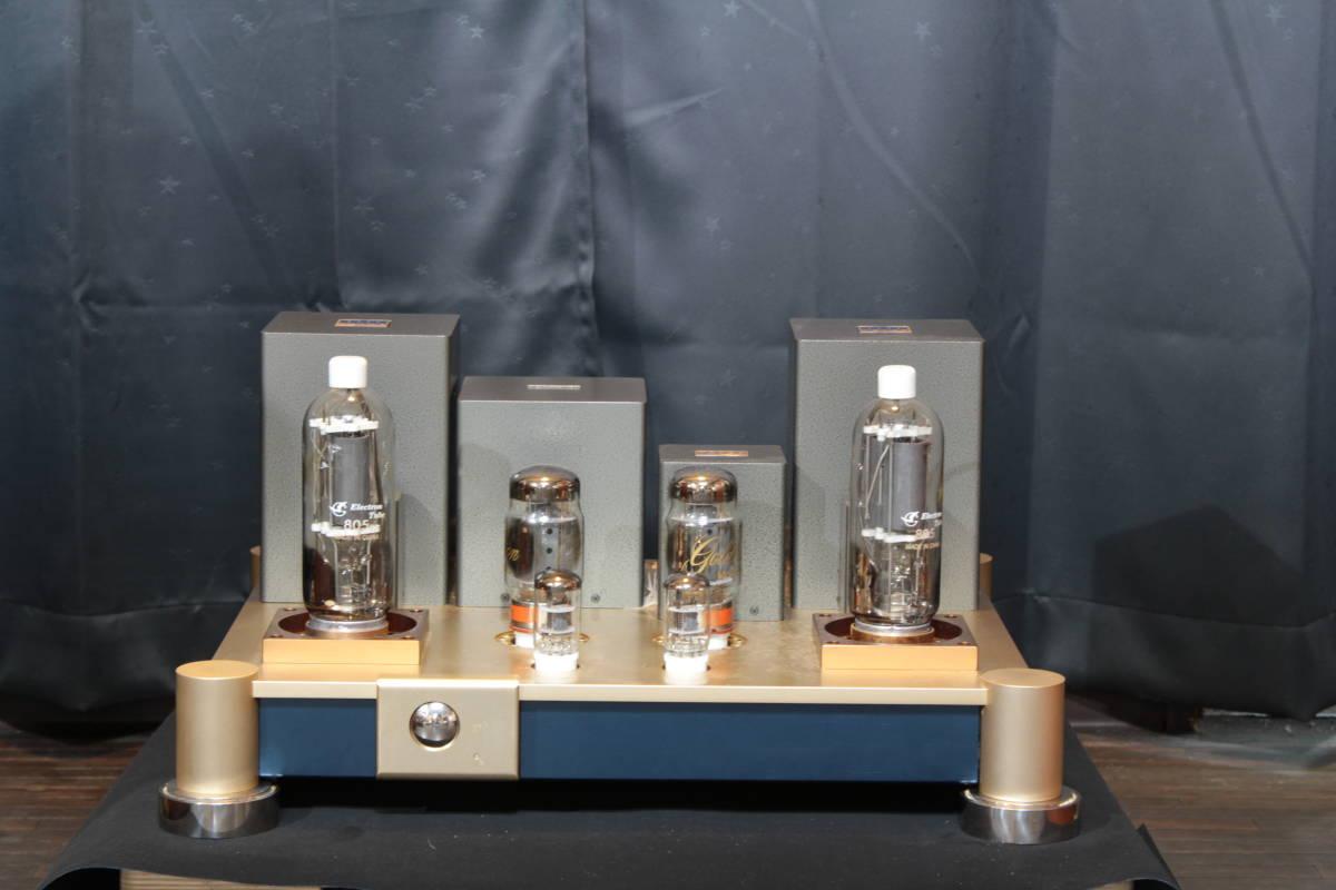 ♪シングルエンドステレオパワーアンプ EC-805 WAVAC試作モデル トランスはすべてTANGO特注品使用♪_画像2