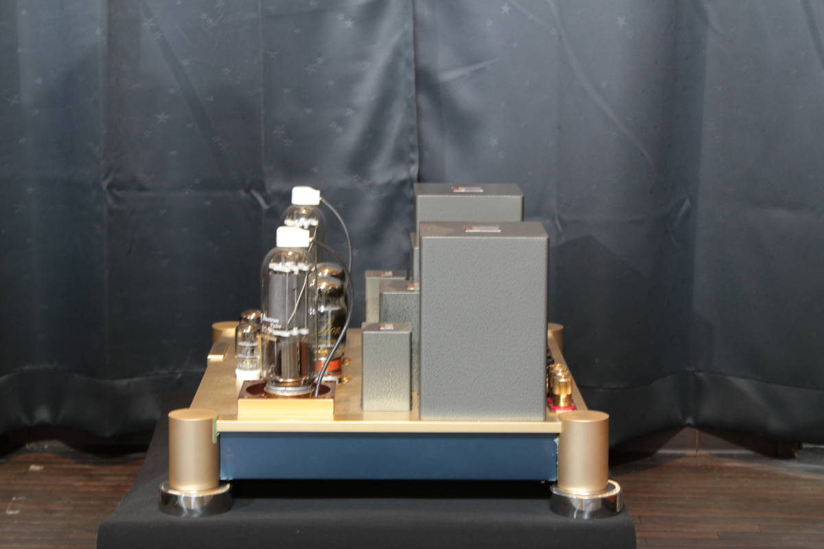 ♪シングルエンドステレオパワーアンプ EC-805 WAVAC試作モデル トランスはすべてTANGO特注品使用♪_画像3