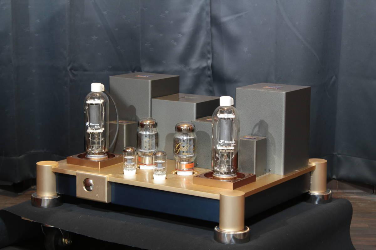 ♪シングルエンドステレオパワーアンプ EC-805 WAVAC試作モデル トランスはすべてTANGO特注品使用♪_画像5