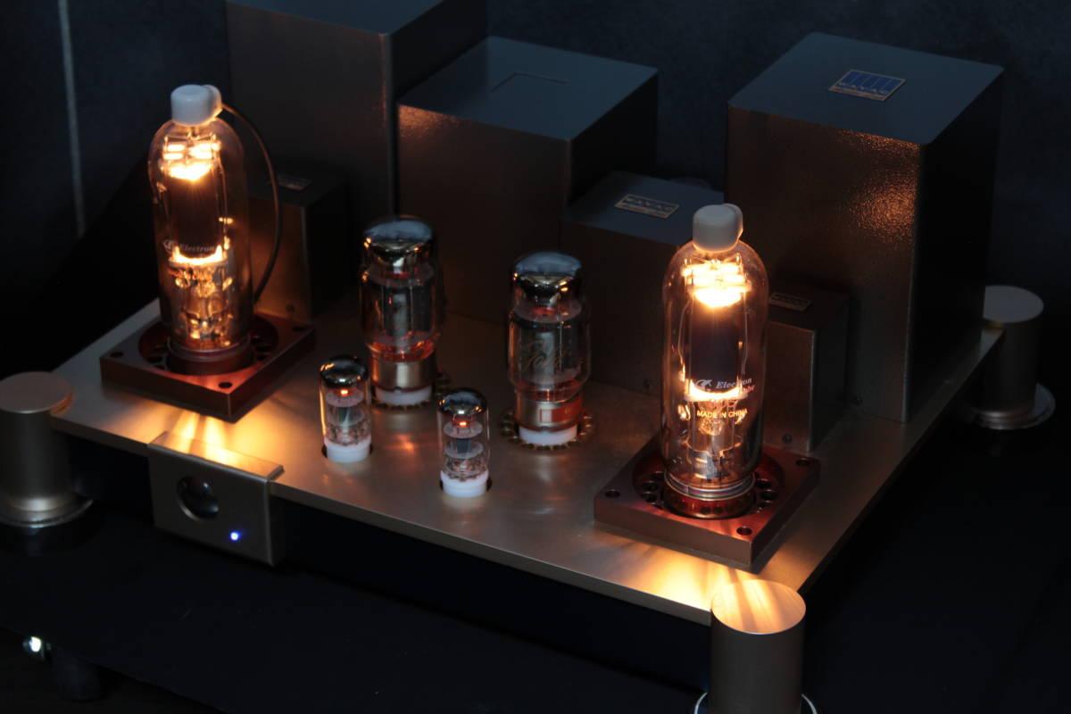 ♪シングルエンドステレオパワーアンプ EC-805 WAVAC試作モデル トランスはすべてTANGO特注品使用♪_画像10
