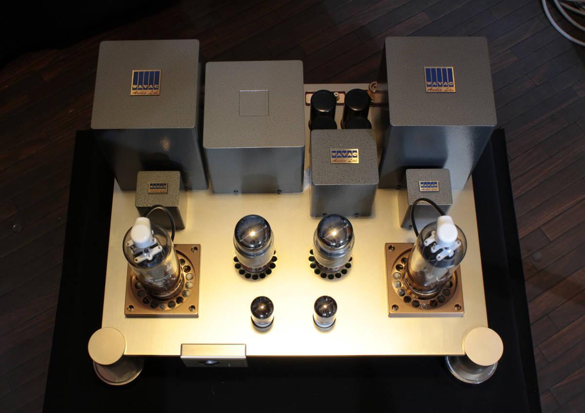 ♪シングルエンドステレオパワーアンプ EC-805 WAVAC試作モデル トランスはすべてTANGO特注品使用♪_画像6