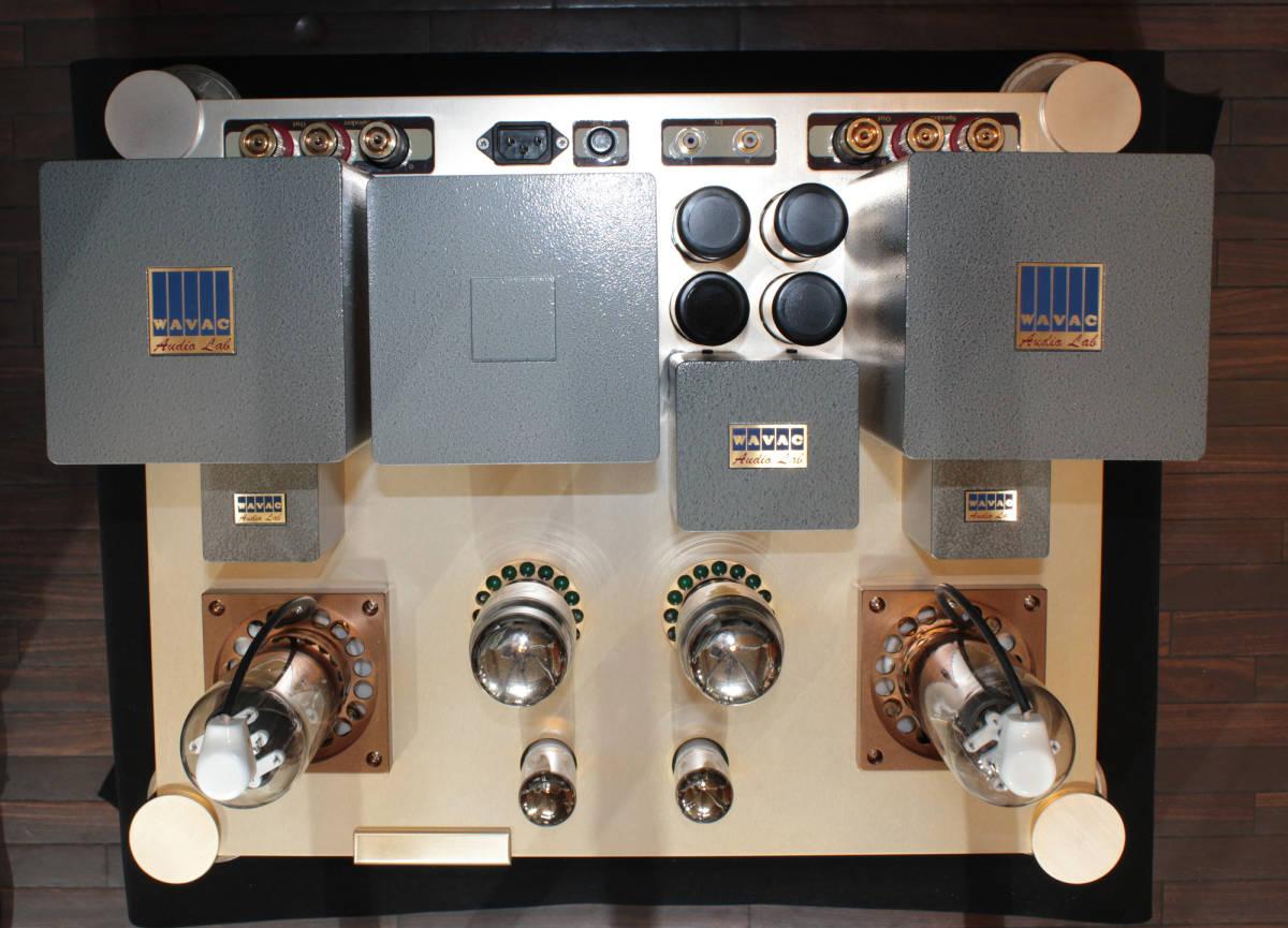♪シングルエンドステレオパワーアンプ EC-805 WAVAC試作モデル トランスはすべてTANGO特注品使用♪_画像7