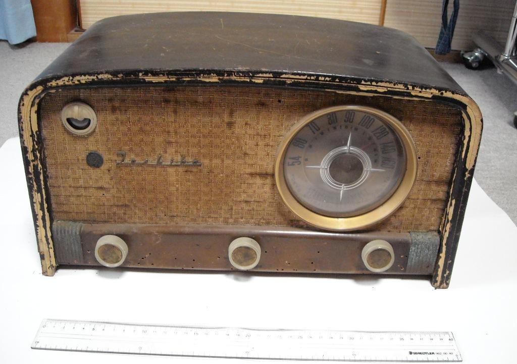 Toshiba 東芝 Model 614A Matsuda Radio 6TUBE SUPERHETERODYNE 動作せず ジャンク