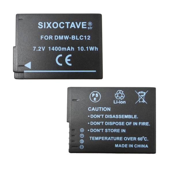 【新品】PanasonicパナソニックDMW-BLC12互換バッテリー2個セットDMC-FZ1000/DMC-FZ200/DMC-FZ200GK/DMC-FZ200K/DMC-FZ300/DMC-FZH1_画像2