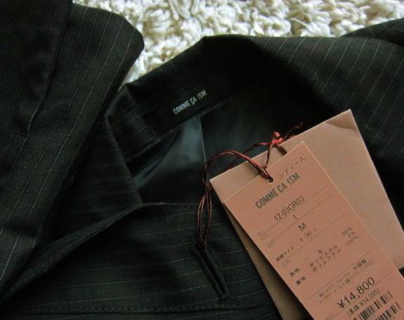◆コムサイズム COMME CA ISM 新品定価¥14800 ジャケット_画像3
