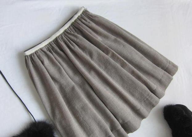 ◆組曲 KUMIKYOKU 大きいサイズ ふんわり スカート