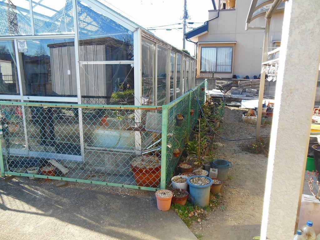 園芸用温室2X4間、激安。条件有り。アルミサッシ、ガラス張り、堅牢。_画像7