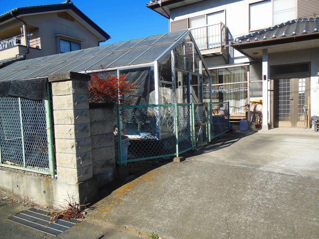 園芸用温室2X4間、激安。条件有り。アルミサッシ、ガラス張り、堅牢。_画像8