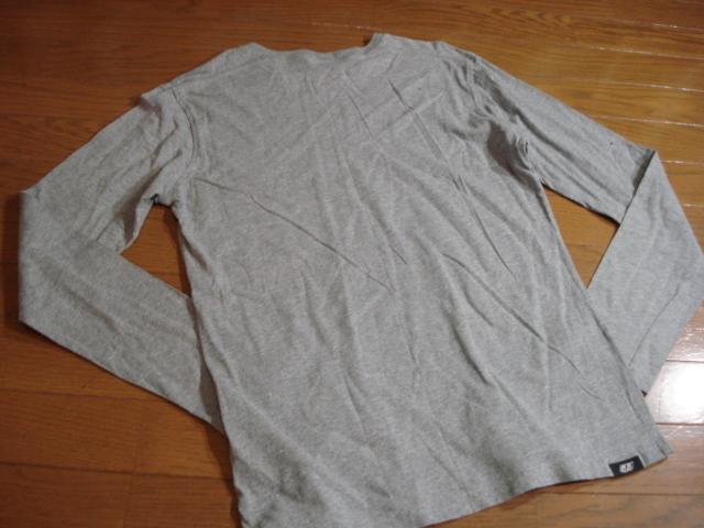 送料無料☆55DSL長袖Tシャツ/ロゴ/メンズ/M/グレー/ディーゼル/diesel/インナー_画像4