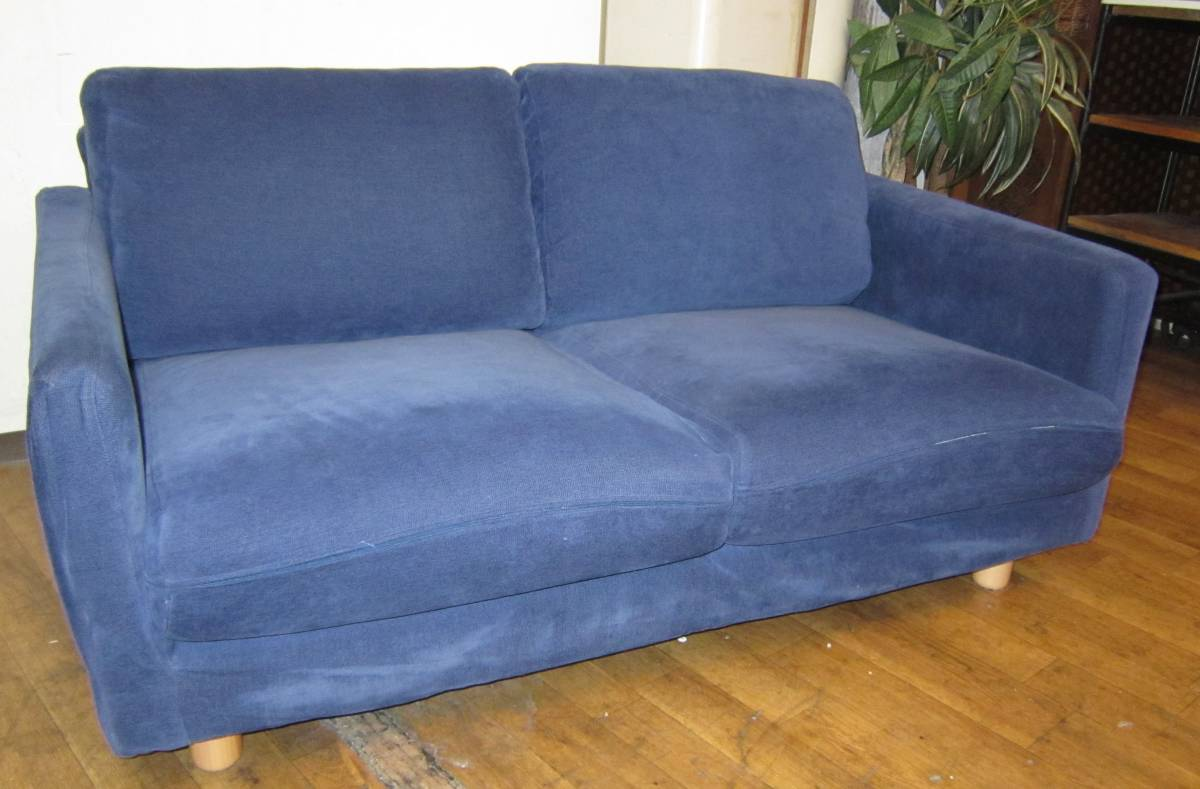 Stupendous Muji Muji Ryohin 2P Sofa Slim Arm 2 Seater Feather Bralicious Painted Fabric Chair Ideas Braliciousco