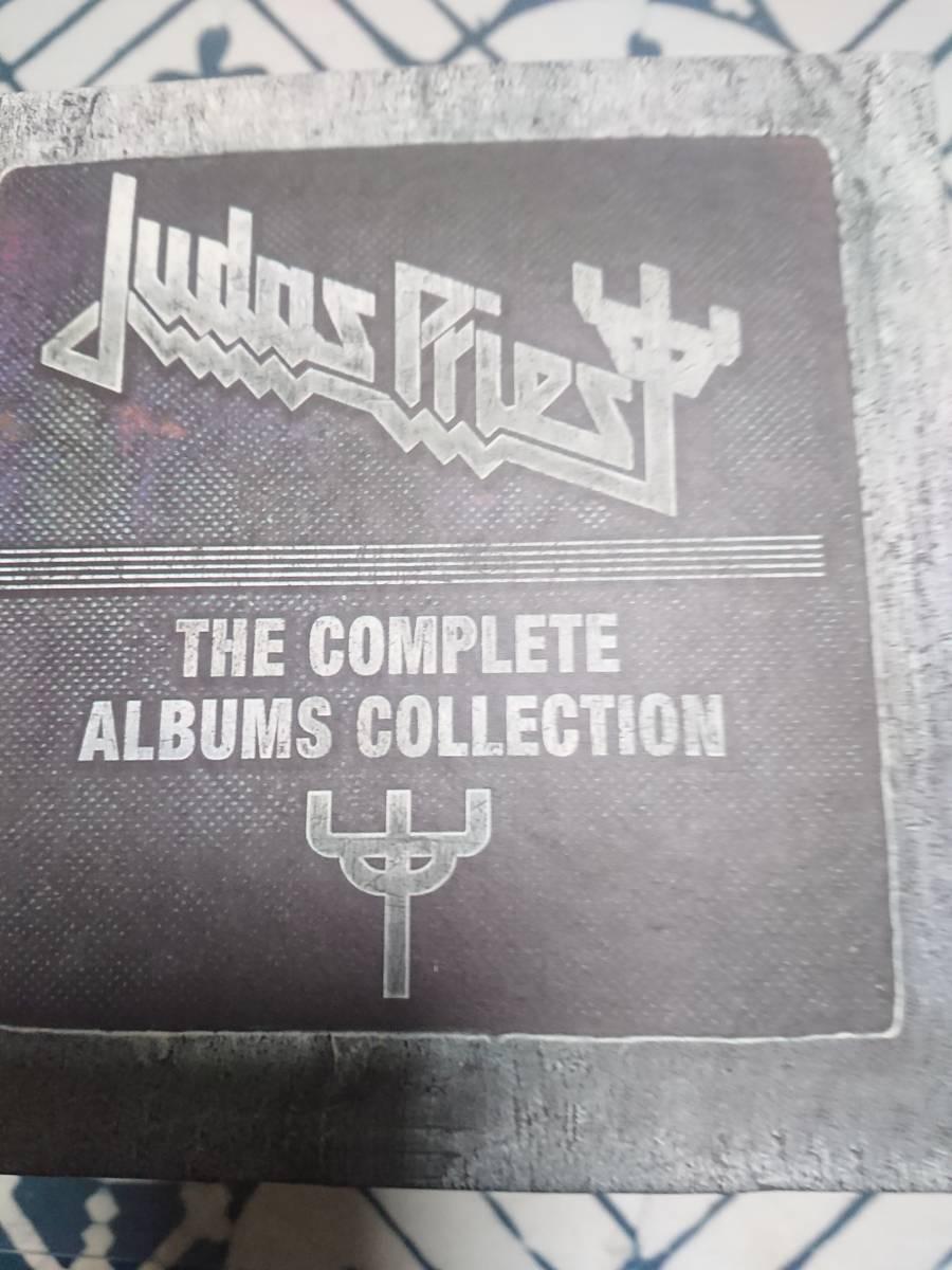 ジューダスのUK輸入盤17作品集・19枚CDボックス。ほぼジャケットと同じピクチャー・ディスクです。モノクロの英語解説ブックレット付き。_ボックス表