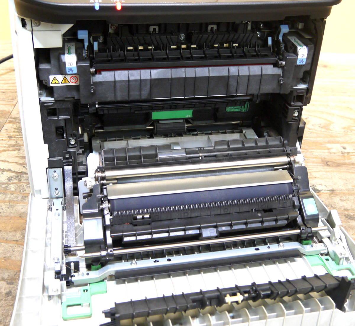 動作品 RICOH/リコー SP C251SF A4カラーレーザープリンター 複合機_画像9