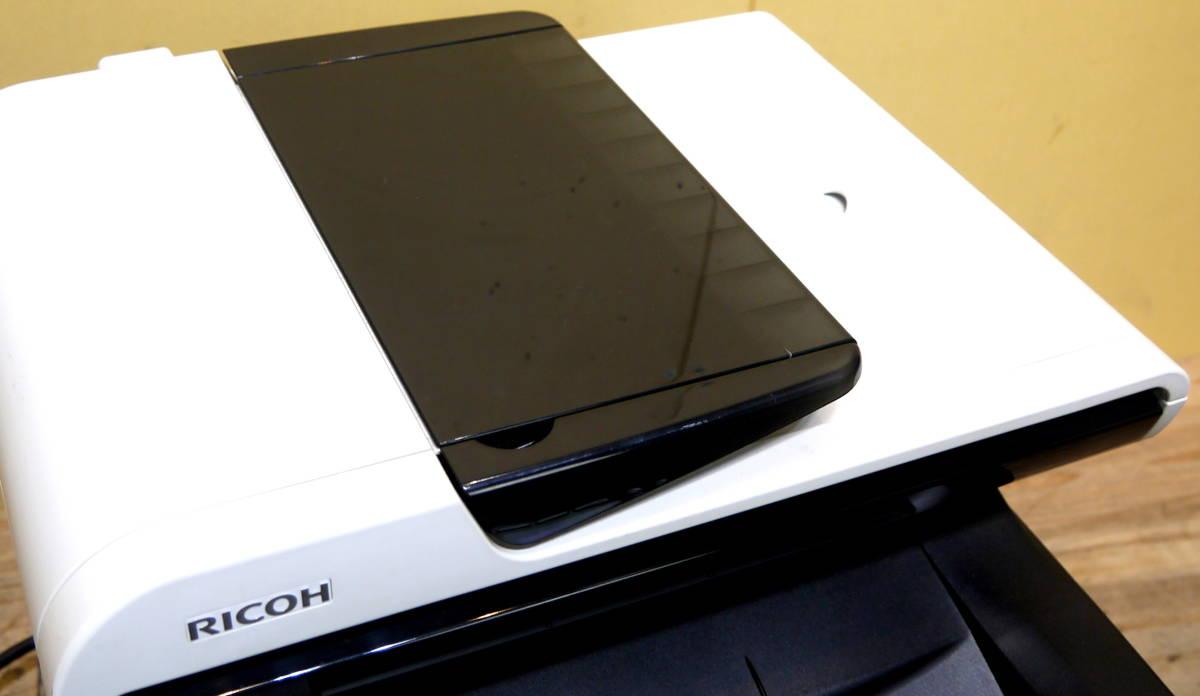 動作品 RICOH/リコー SP C251SF A4カラーレーザープリンター 複合機_画像6