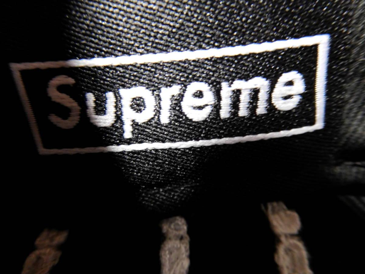 国内正規品 Supreme Text Stripe New Era Cap 7 3/8 Black 新品未使用 19SS 58.7cm 帽子 シュプリーム ニューエラ 黒 BoxボックスLogoロゴ_画像5