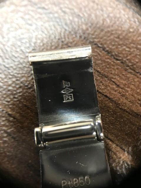 【6865】 プラチナ 100g 20cm 喜平 ブレスレット Pt850 造幣局検定ホールマーク有_画像4