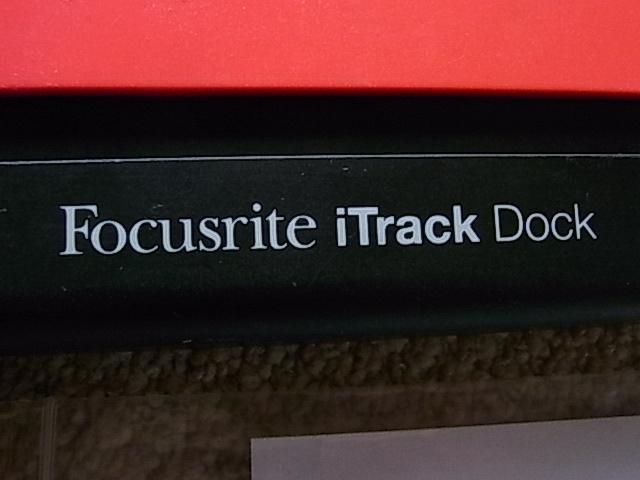 Focusrite  iTrack Dock iPad用オーディオインターフェイス 中古_画像6
