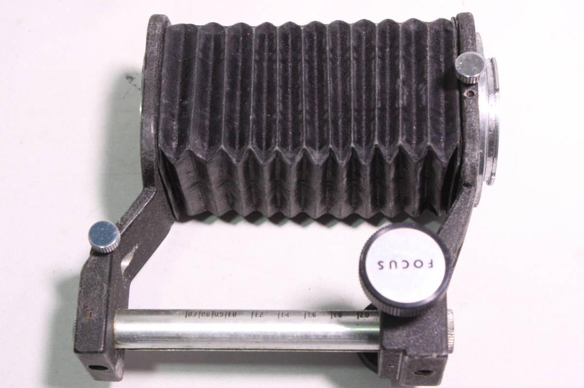 OLYMPUS PEN F ボディ Zuiko 100mm F3.5 レンズ BELLOWS ベローズ SLIDE COPYER スライドコピア デュプリケータ SLIDER スライダー #961 _画像9