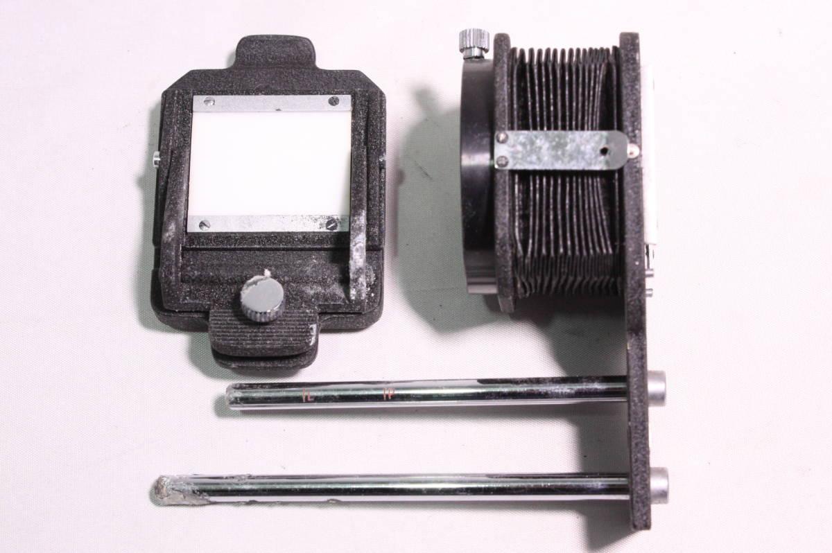 OLYMPUS PEN F ボディ Zuiko 100mm F3.5 レンズ BELLOWS ベローズ SLIDE COPYER スライドコピア デュプリケータ SLIDER スライダー #961 _画像8