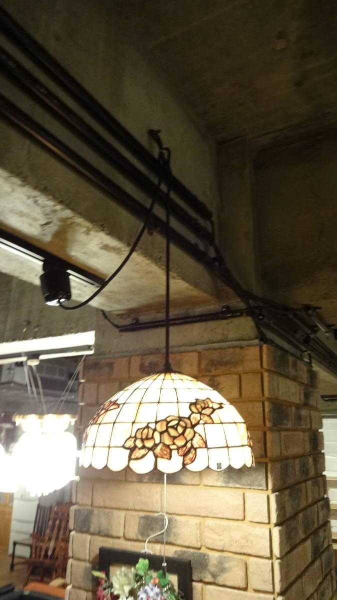 ◆ヤマギワ 照明器具◆吊り下げ照明 ペンダントライト アンティーク 照明 ライト◆シェルシェード ミツバチ◆昭和レトロ◆