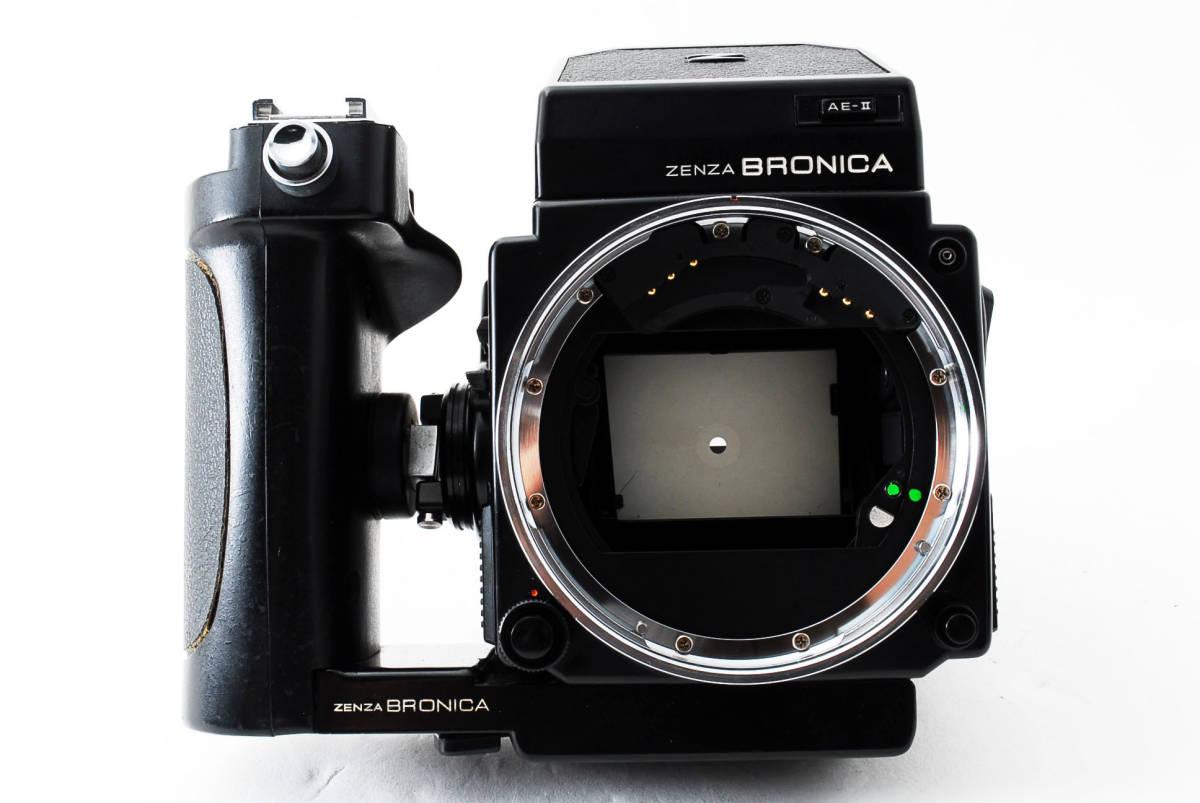 ★ZENZA BRONICA ETR-Si ZENZANON MC 75mm F2.8 AE-II グリップ ブロニカ #679_画像5