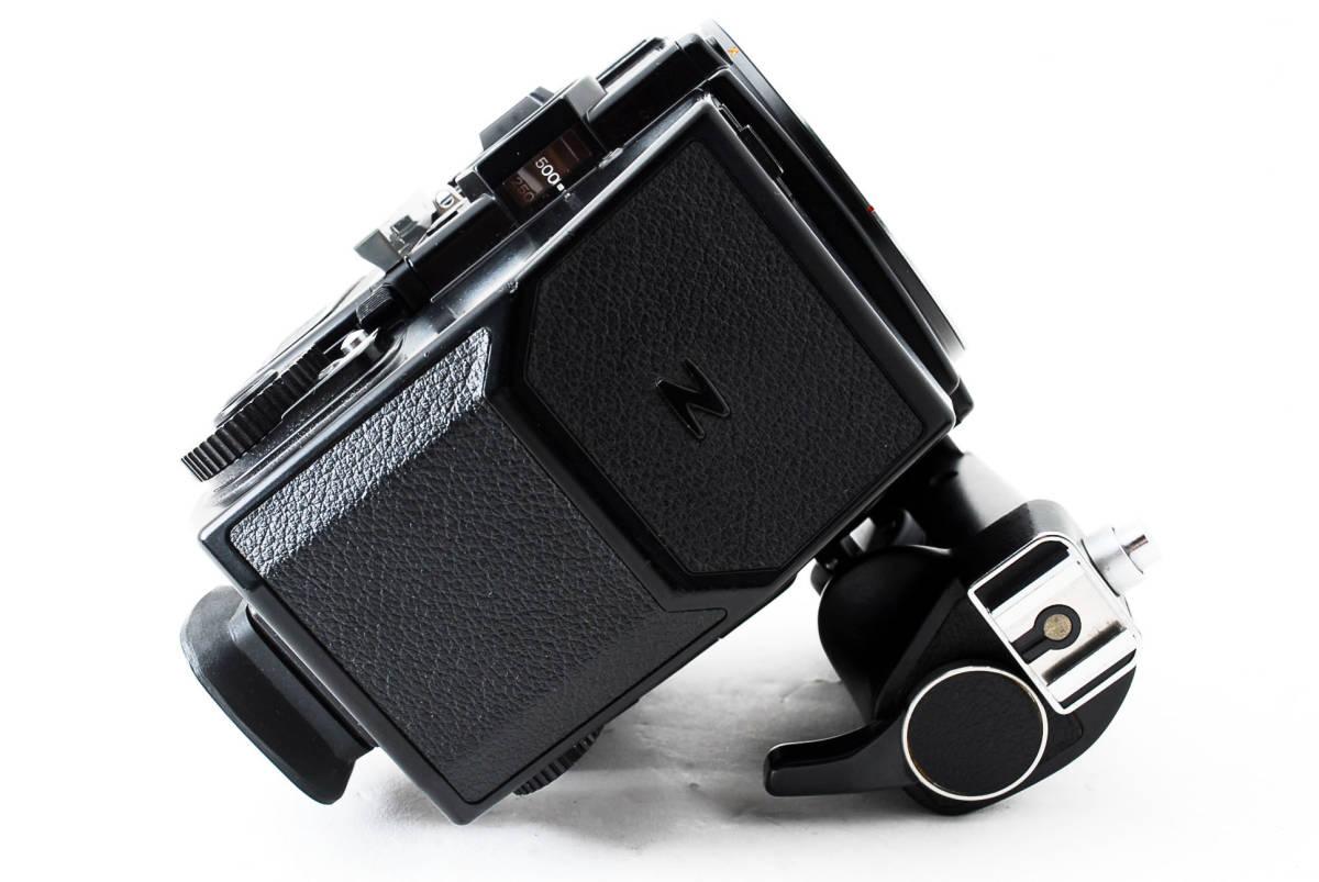 ★ZENZA BRONICA ETR-Si ZENZANON MC 75mm F2.8 AE-II グリップ ブロニカ #679_画像8
