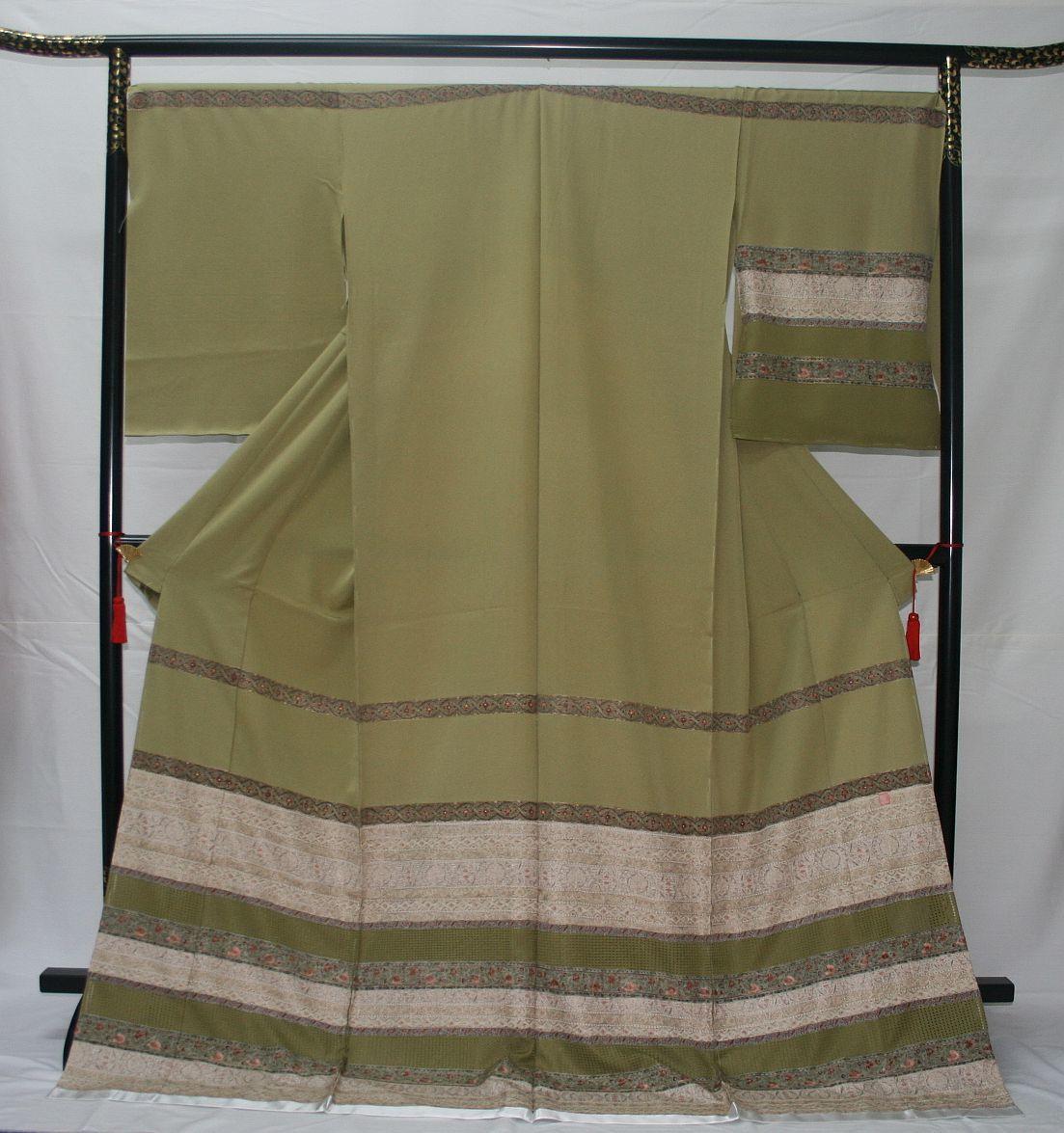 ◆高級手縫い仕立付◆横塚先生◆汕頭手刺繍◆特別訪問着NO.13_画像1