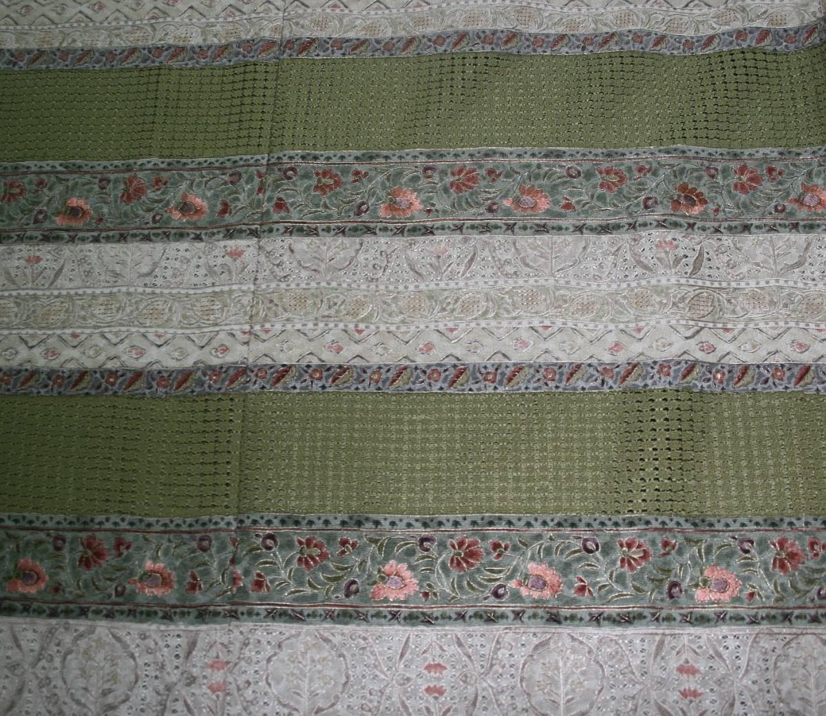 ◆高級手縫い仕立付◆横塚先生◆汕頭手刺繍◆特別訪問着NO.13_画像4