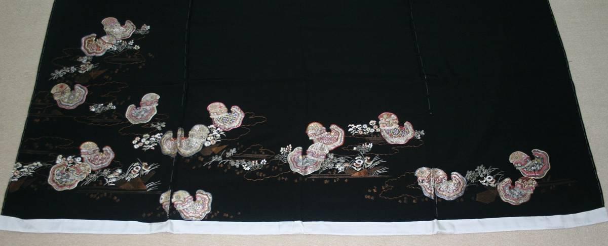 ◆高級手縫い仕立付◆弊社オリジナル◆特別訪問着NO.4_画像3