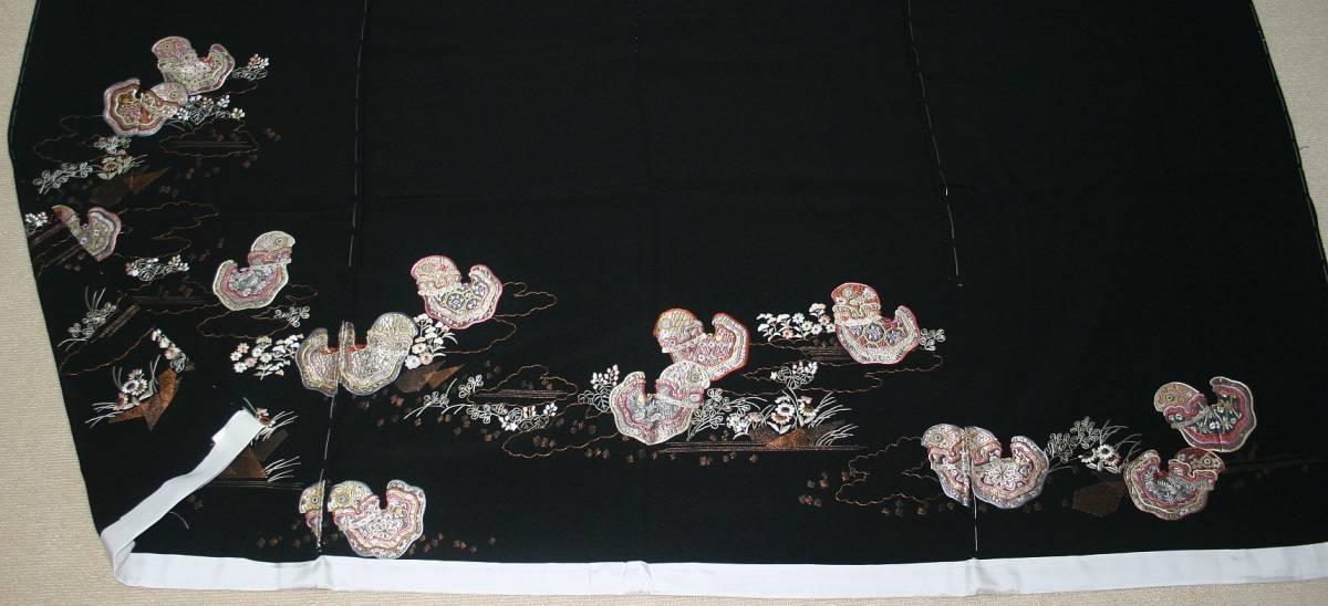 ◆高級手縫い仕立付◆弊社オリジナル◆特別訪問着NO.4_画像4
