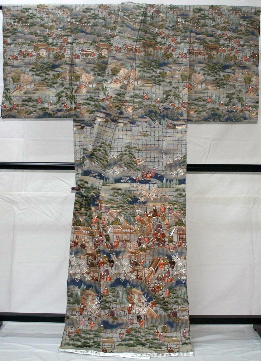 ◆高級手縫い仕立付◆ 横塚先生◆総汕頭手刺繍◆特別訪問着NO.15_画像2