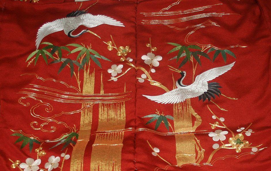 ◆一品物◆弊社工房オリジナル◆手刺繍と金駒刺繍◆お誂えお仕立て付 振袖NO.9_画像5