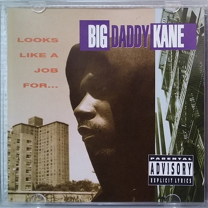 CD BIG DADDY KANE LOOKS LIKE A JOB FOR 93 US COLD CHILLIN' 90s RAP HIPHOP CLASSIC TRAKMASTERZ MISTER CEE EASY MO BEE JUICE CREW _画像1