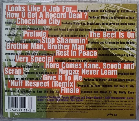 CD BIG DADDY KANE LOOKS LIKE A JOB FOR 93 US COLD CHILLIN' 90s RAP HIPHOP CLASSIC TRAKMASTERZ MISTER CEE EASY MO BEE JUICE CREW _画像2
