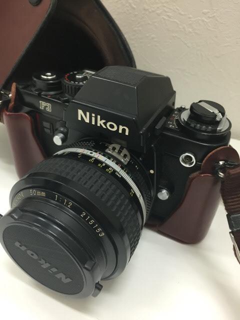 【12994】 ニコン NIKON F3  レンズ付 動作未確認 売り切り_画像3