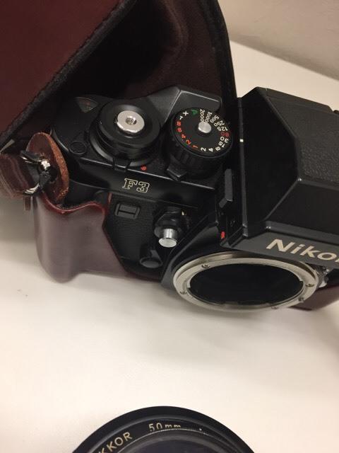 【12994】 ニコン NIKON F3  レンズ付 動作未確認 売り切り_画像9