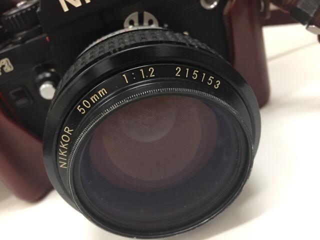 【12994】 ニコン NIKON F3  レンズ付 動作未確認 売り切り_画像4