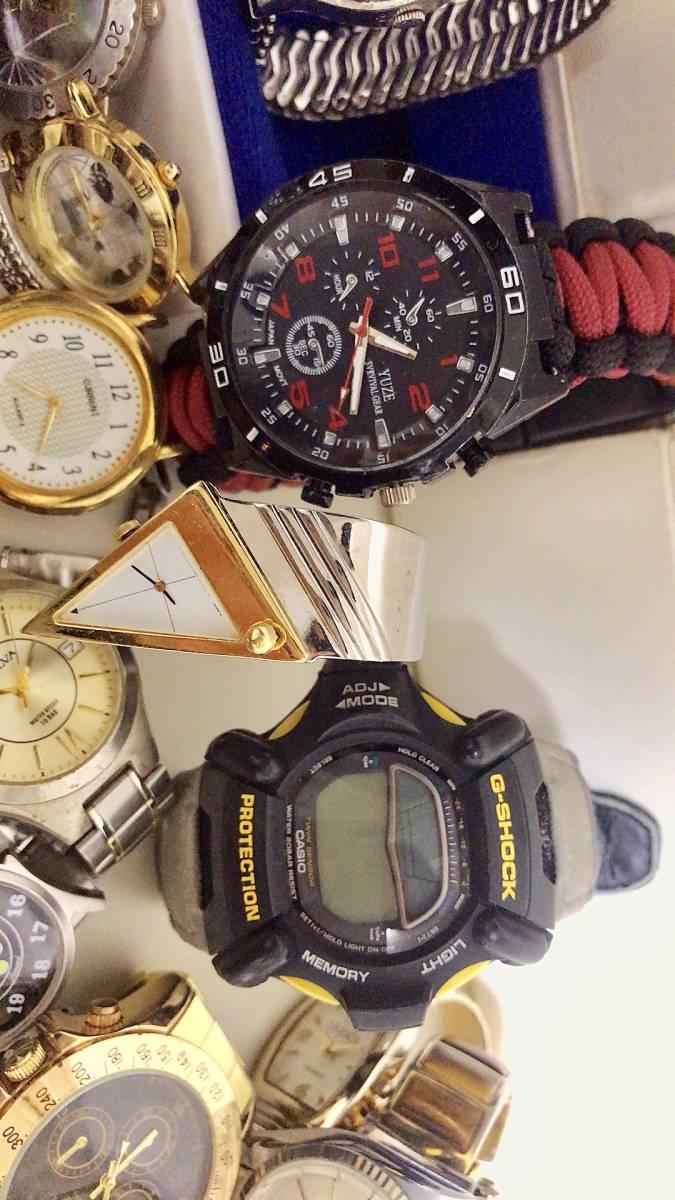 腕時計 200個以上 まとめて 大量 セット ジャンク ROLEX WALTHAM TAGHEUER LONGINES GSHOCK SEIKO CITIZEN 手巻き 自動巻 お宝あるかも